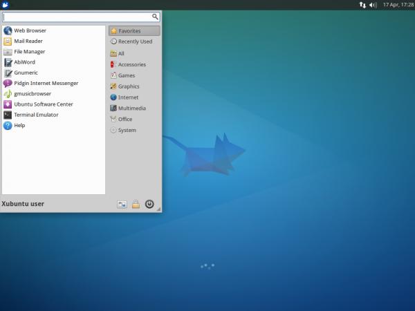 Xubuntu 14.04: Whiskermenu
