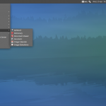 Xubuntu 12.04 LTS, Desktop and Applications menu
