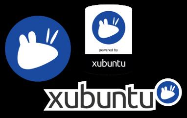 Наклейка с логотипом Xubuntu