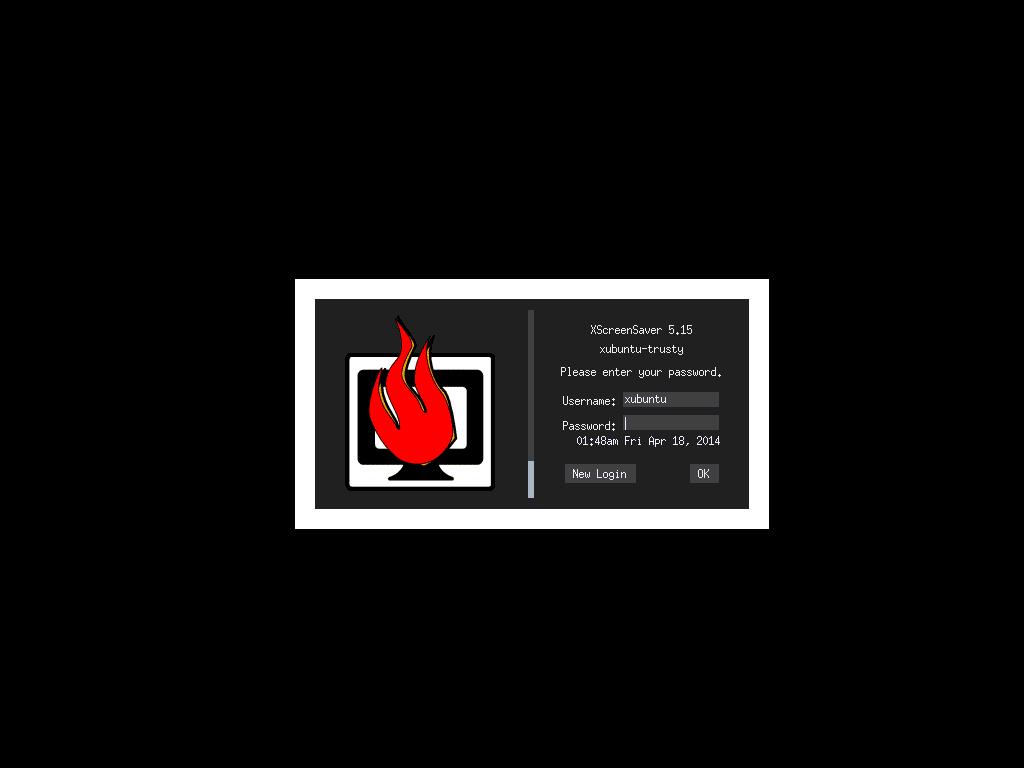 Screen Locking In Xubuntu