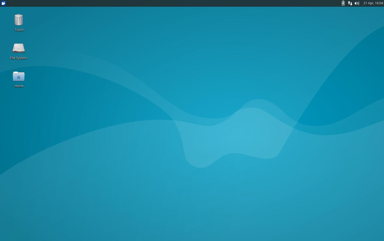 Xubuntu 16.04: Desktop