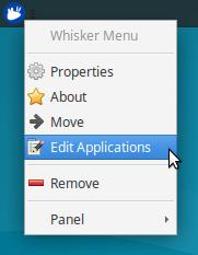 The small details: Menu editing « Xubuntu