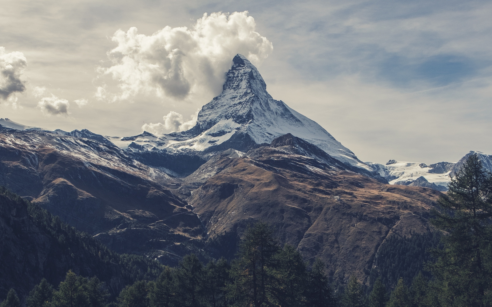 Mountainous View by Sven Scheuermeier